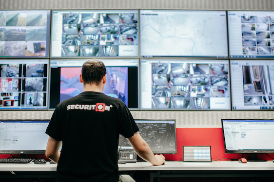 securiton_pult centralnej ochrany_videomonitoring
